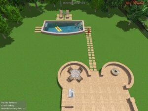 Pool Rendering for Gladelynn Way